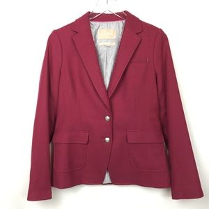 Banana Republic | Burgundy Blazer Jacket 4